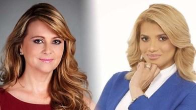 Nuria Piera, (i) y Kimberly Taveras