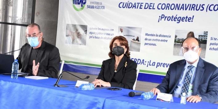 Funcionarios informan sobre la situación sanitaria por el coronavirus