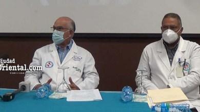 Doctores César Roque y Luis Cabrera