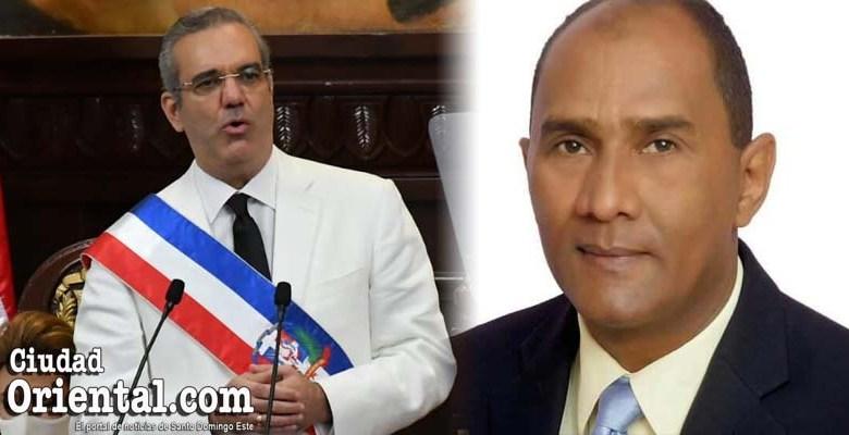 El presidente Luis Abinder y el regidor Abel Matos