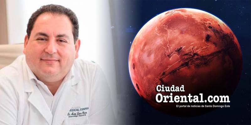 Mario Lama atento al planeta Marte