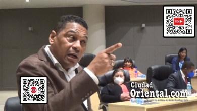 Luis Flores, regidor de la Fuerza del Pueblo en el ASDE