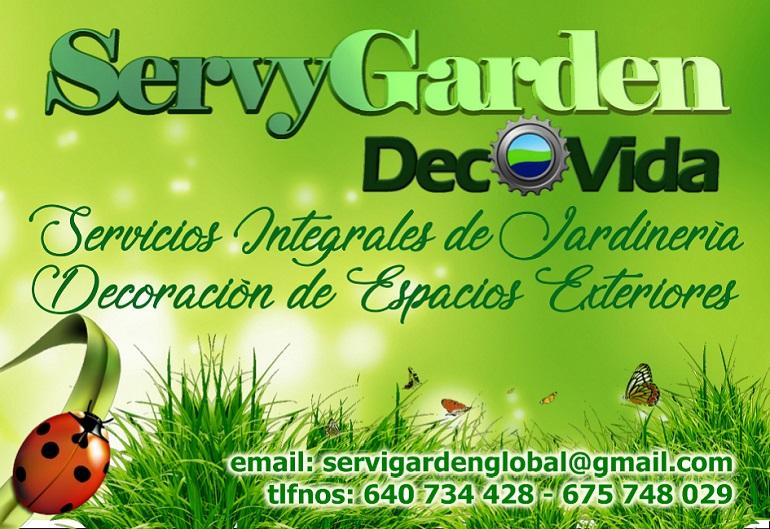 ServyGarden - Servicios Integrales de Jardinería y Decoración de Espacios Exteriores