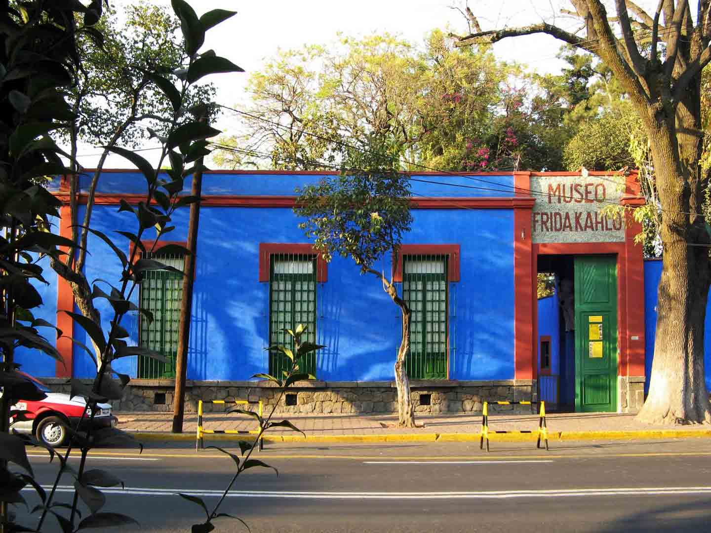 City Mexico Frida Kahlo House