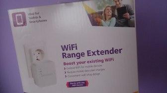 Potencidador de la señal wifi sin estrenar. Foto: T. Morales Orozco