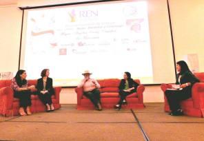 Foto: cortesía. Panel sobre Mujer, bienestar y ligerazgo. Red Mujeres Empresarias
