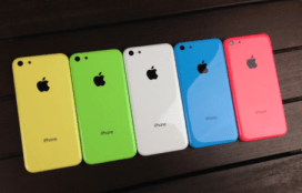 Five colors to enjoy (plus a gold iPhone 5S)
