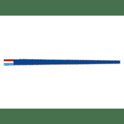 Vleugel rood blauw harlingen vlag friesland