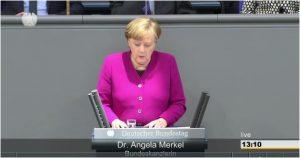 aus dem Videomitschnitt des Deutschen Bundestages vom 21.03.2018