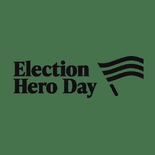 Election Hero Day Logo
