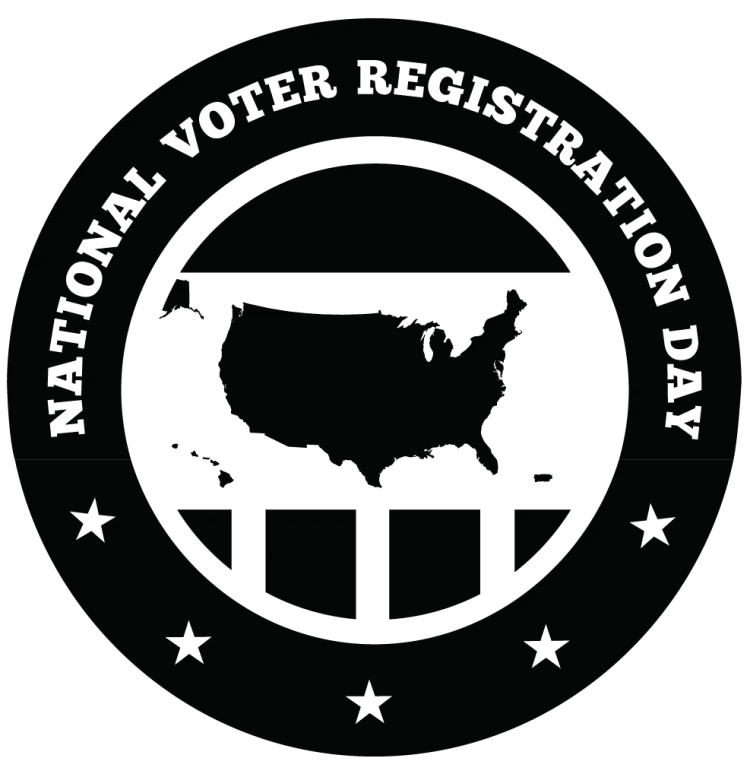 National Voter Registration Day Logo