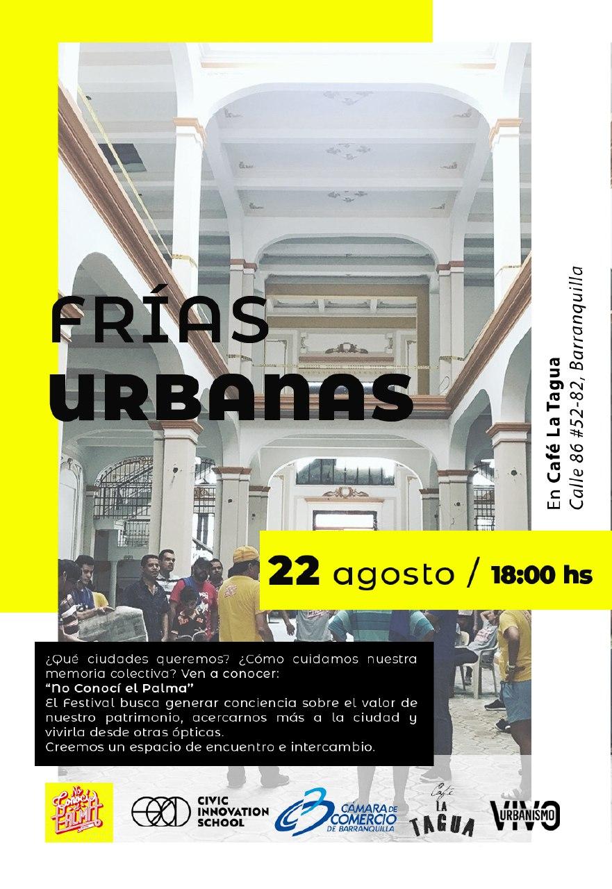 Cartel frías urbanas en Barranquilla