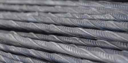 Cold Twisted Deformed Bars or Tor steel  Used in RCC