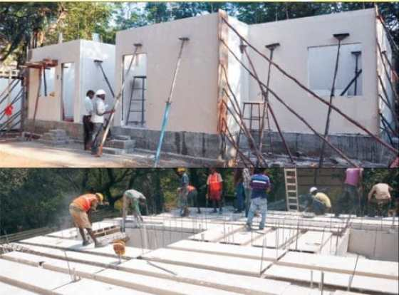 GFRG Panel Foundation Construction