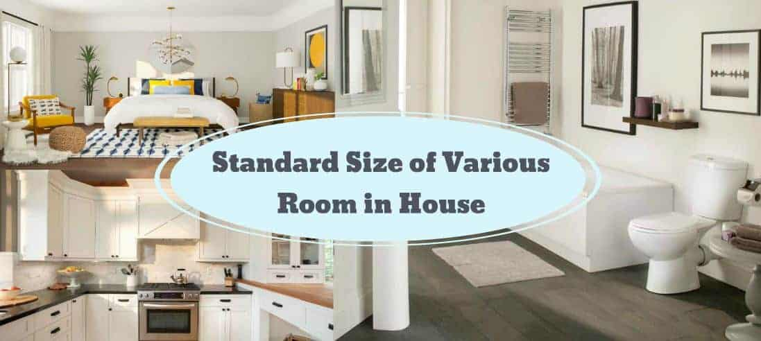 The Standard Room Size Location In Residential Building