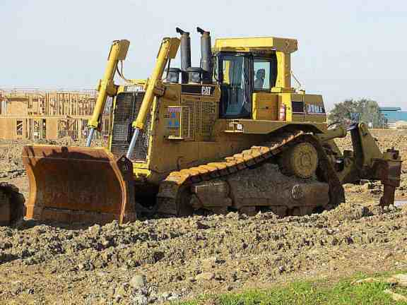Bull Dozer - Construction Equipment