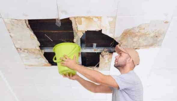 Water Leaking From Ceiling Causes and Repairs