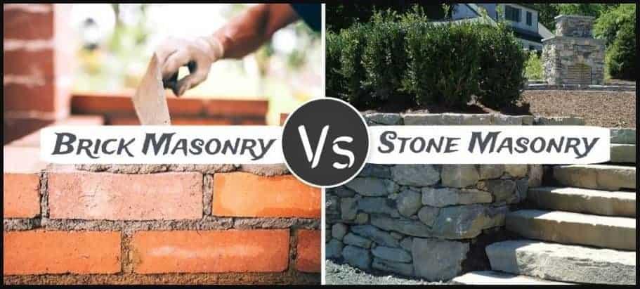 BRICK MASONRY VS STONE MASONRY