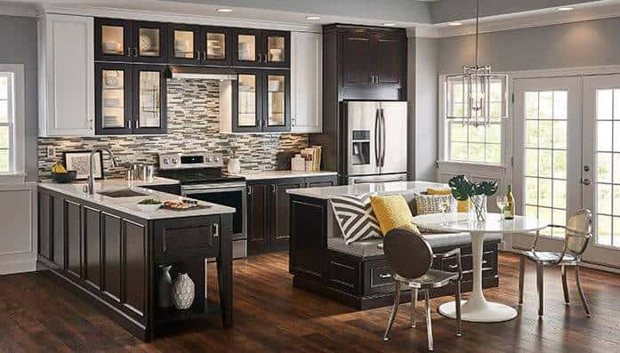 L-Shaped Types of Kitchen Layout