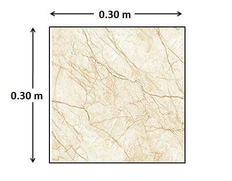 30 cm x  30 cm Tile - How to Calculate Tiles Needed for a Floor
