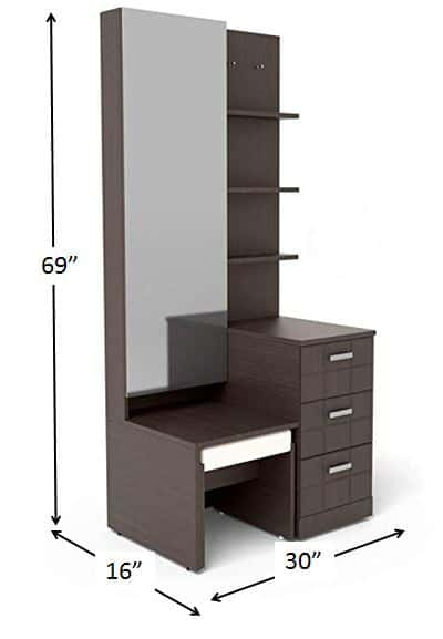 Standard Dimension of Dressing Table - 10 Types of Furniture in House and Their Standard Size