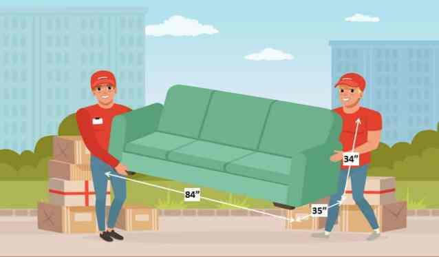 Standard Size of Sofa for Living Room - 10 Types of Furniture in House and Their Standard Size