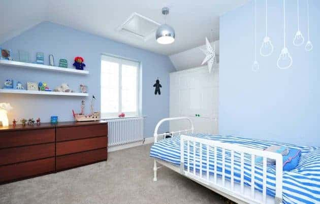 Light Blue Color Shade For Room - How to Keep House Cool in Summer Naturally