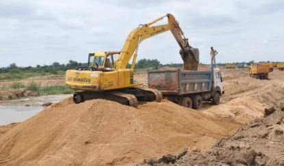 Construction Sand - Types of Building Materials used in Building Construction