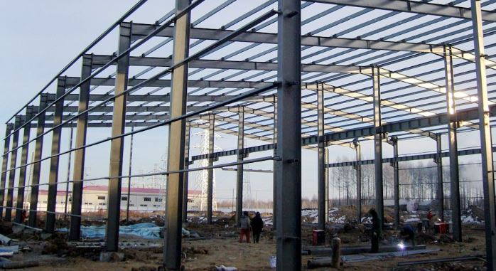 Steel roof sheed - Types of Building Materials