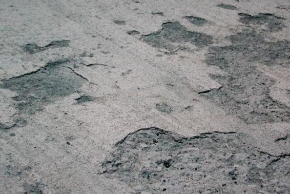 signs of bad concrete