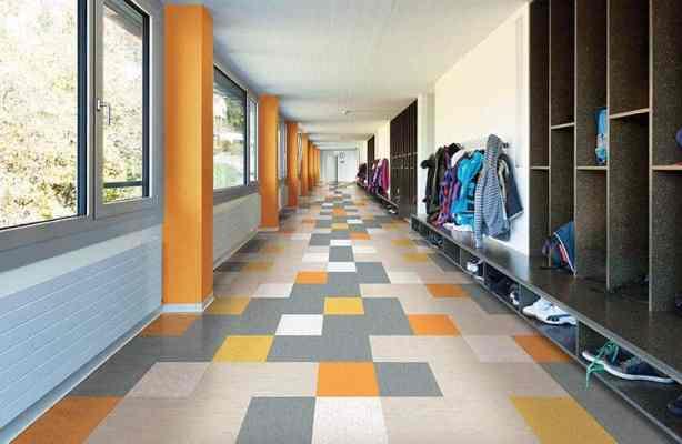 Vinyl Composite Tiles as Resilient Flooring