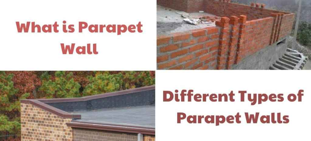 Parapet wall and its Types