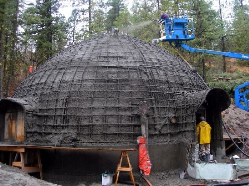 Shotcrete Domes