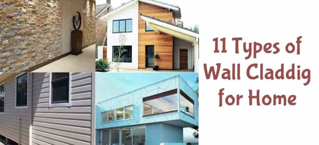 11 Types of Cladding for Wall