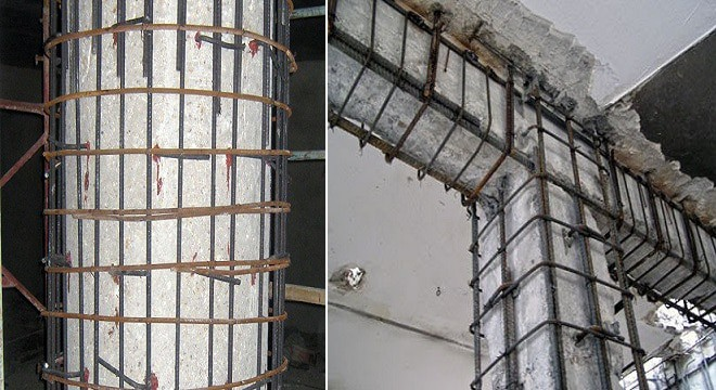 Column Beam Jacketing - Retrofitting of Building