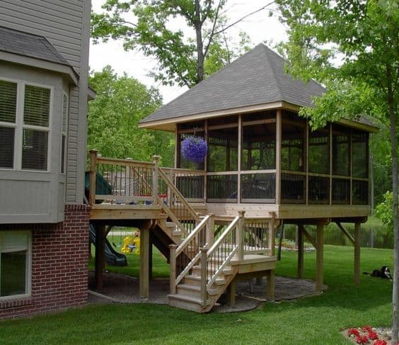 Detached Porch - What is Porch? Types of Porch