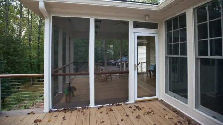 Screened Porch - What is Porch? Types of Porch