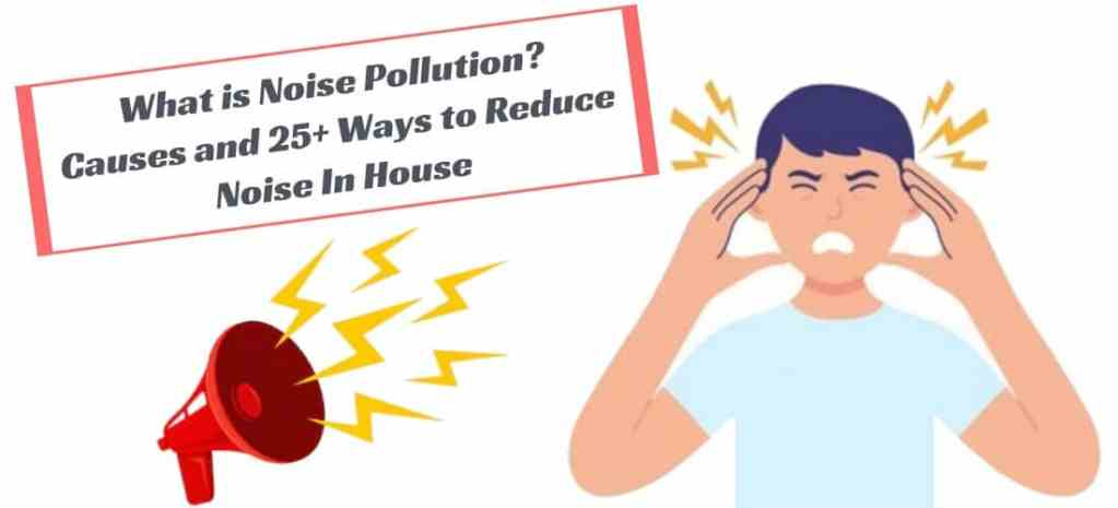 What is Noise Pollution and Causes and Control Measures