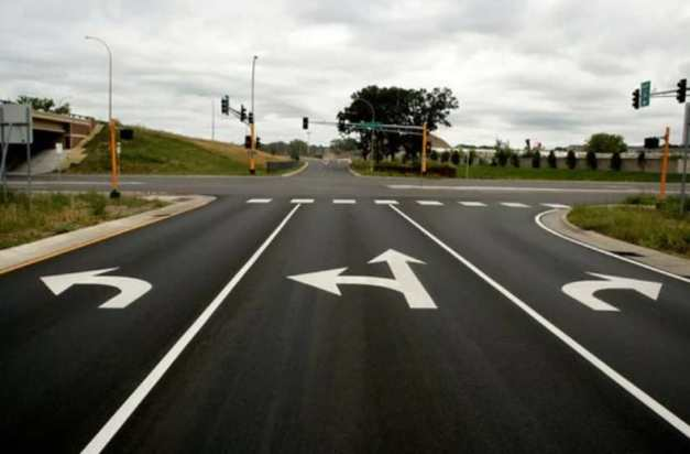 Pavement Marking And Their Meanings, Uses