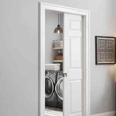 Pocket Door In Laundry Room
