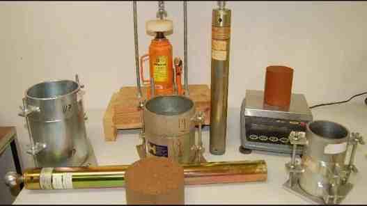 Apparatus of Standard Proctor Test