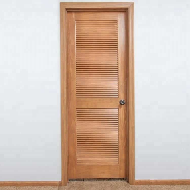 Wooden Louvered Doors