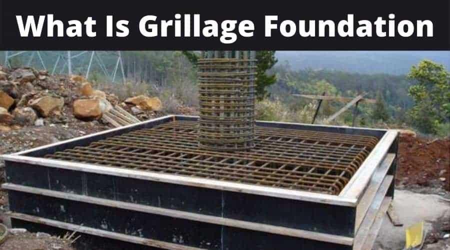 Steel Grillage Foundation