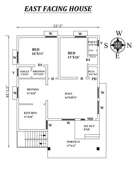 Free House Plans PDF | Free House Plans Download | House Blueprints Free | House Plans PDF | 4 bedroom house plans pdf free download