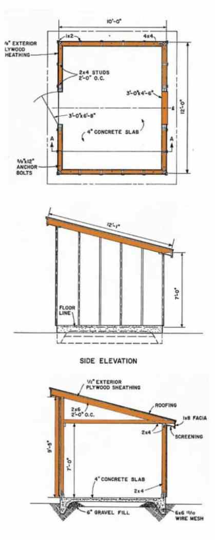 What Is Lean to Roof | Lean to Roof Design | How to Build A Lean to Roof | Lean to Roof Plan