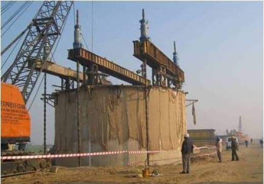 What Is Well Foundation | Well Foundation Construction| Component of Well Foundation | Sinking of Well Foundation