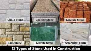 13 Types of Stones Used In Construction | Types of Rock
