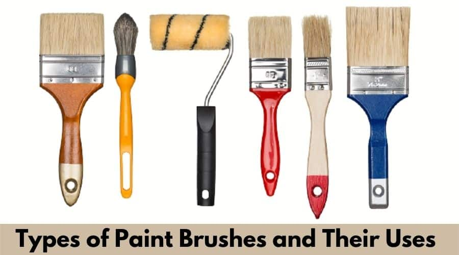 Paint Brushes types of wall