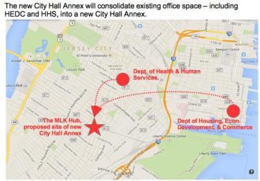 City Hall Annex Map