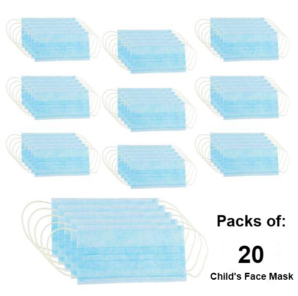 3-PLY Earloop Disposable Child's Face Mask